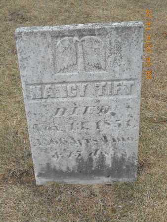 TIFT, NANCY - Branch County, Michigan   NANCY TIFT - Michigan Gravestone Photos
