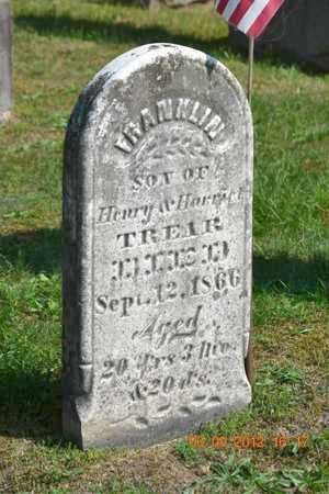 TREAR, FRANKLIN - Branch County, Michigan | FRANKLIN TREAR - Michigan Gravestone Photos