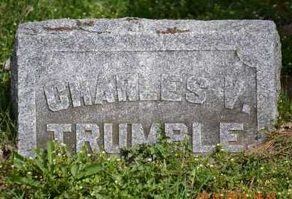 TRUMBLE, CHARLES V. - Branch County, Michigan | CHARLES V. TRUMBLE - Michigan Gravestone Photos