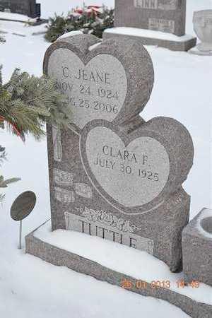 TUTTLE, CLARA F. - Branch County, Michigan | CLARA F. TUTTLE - Michigan Gravestone Photos