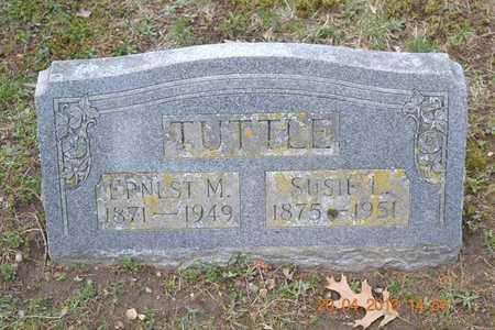 TUTTLE, SUSIE L. - Branch County, Michigan | SUSIE L. TUTTLE - Michigan Gravestone Photos