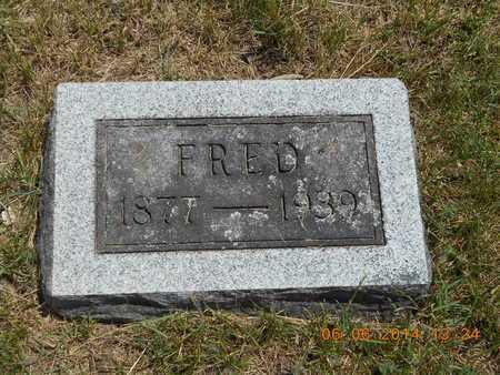TUTTLE, FRED - Branch County, Michigan | FRED TUTTLE - Michigan Gravestone Photos