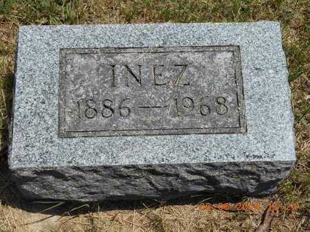TUTTLE, INEZ - Branch County, Michigan | INEZ TUTTLE - Michigan Gravestone Photos