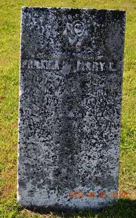 UNKNOWN, PHILENIA - Branch County, Michigan | PHILENIA UNKNOWN - Michigan Gravestone Photos
