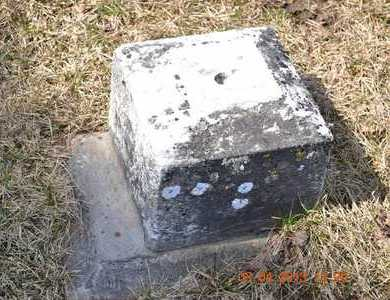 CRAIG, UNKNOWN - Branch County, Michigan | UNKNOWN CRAIG - Michigan Gravestone Photos