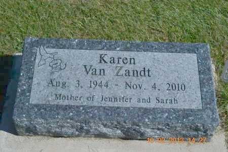 VAN ZANDT, KAREN L. - Branch County, Michigan | KAREN L. VAN ZANDT - Michigan Gravestone Photos