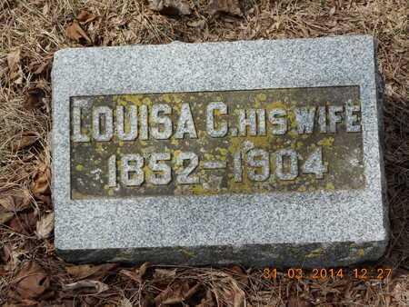 VANDEVANTER, LOUISA C. - Branch County, Michigan | LOUISA C. VANDEVANTER - Michigan Gravestone Photos