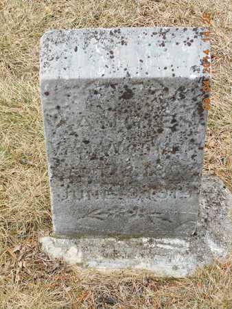 VANWORMER, ANGIE - Branch County, Michigan | ANGIE VANWORMER - Michigan Gravestone Photos