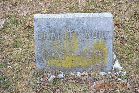 VORE, CHARITY - Branch County, Michigan   CHARITY VORE - Michigan Gravestone Photos
