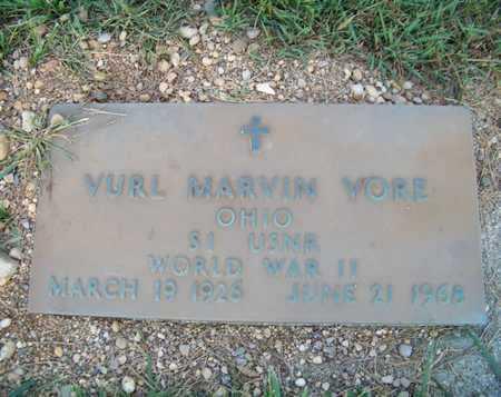 VORE, VURL - Branch County, Michigan | VURL VORE - Michigan Gravestone Photos
