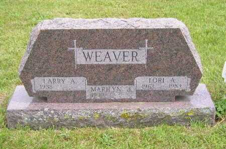 WEAVER, LORI A. - Branch County, Michigan | LORI A. WEAVER - Michigan Gravestone Photos