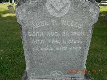 WELLS, ABEL P. - Branch County, Michigan | ABEL P. WELLS - Michigan Gravestone Photos