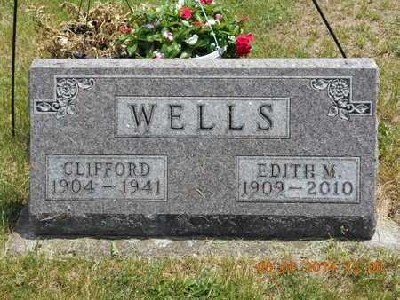 WELLS, CLIFFORD - Branch County, Michigan | CLIFFORD WELLS - Michigan Gravestone Photos