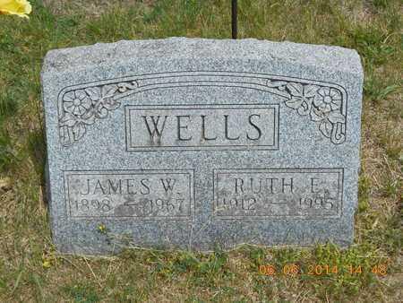 WELLS, RUTH E. - Branch County, Michigan | RUTH E. WELLS - Michigan Gravestone Photos