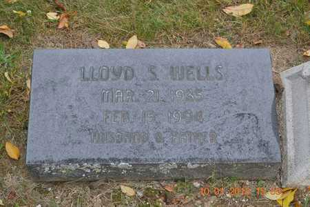 WELLS, LLOYD S. - Branch County, Michigan | LLOYD S. WELLS - Michigan Gravestone Photos