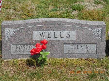 WELLS, EULA M. - Branch County, Michigan | EULA M. WELLS - Michigan Gravestone Photos
