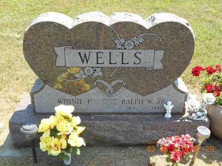 WELLS, WINNIE P. - Branch County, Michigan | WINNIE P. WELLS - Michigan Gravestone Photos