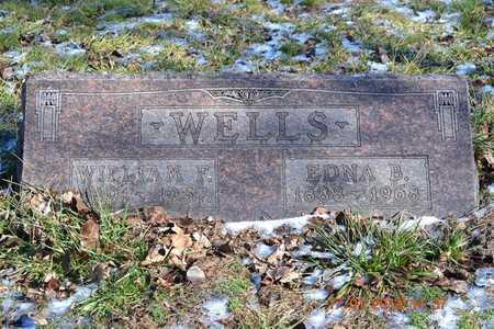 WELLS, EDNA B. - Branch County, Michigan   EDNA B. WELLS - Michigan Gravestone Photos