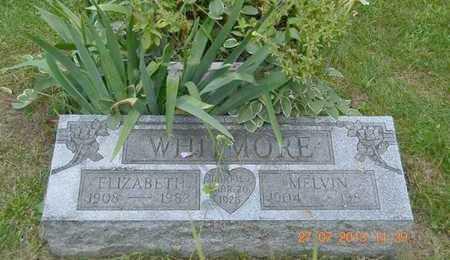WHITMORE, ELIZABETH - Branch County, Michigan | ELIZABETH WHITMORE - Michigan Gravestone Photos