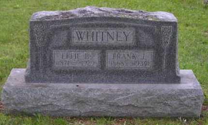 WHITNEY, FRANK J. - Branch County, Michigan | FRANK J. WHITNEY - Michigan Gravestone Photos