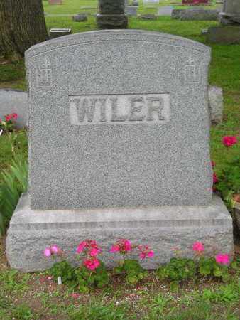WILER, FAMILY - Branch County, Michigan | FAMILY WILER - Michigan Gravestone Photos