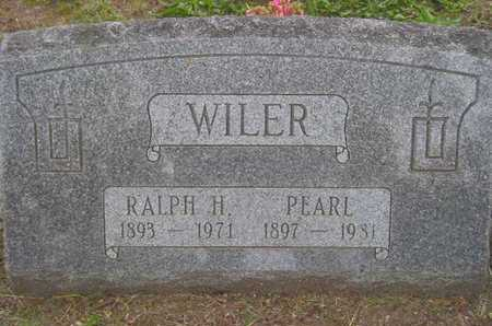 WILER, RALPH H. - Branch County, Michigan | RALPH H. WILER - Michigan Gravestone Photos