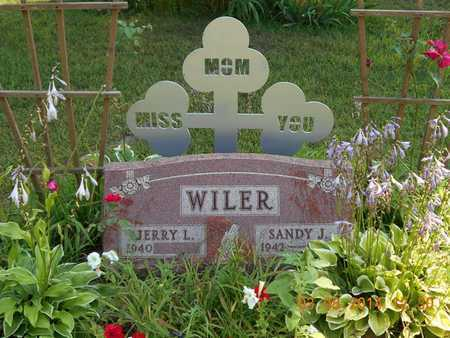 WILER, SANDY J. - Branch County, Michigan | SANDY J. WILER - Michigan Gravestone Photos