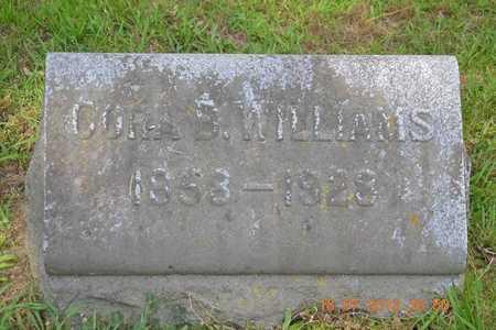 WILLIAMS, CORA B. - Branch County, Michigan | CORA B. WILLIAMS - Michigan Gravestone Photos