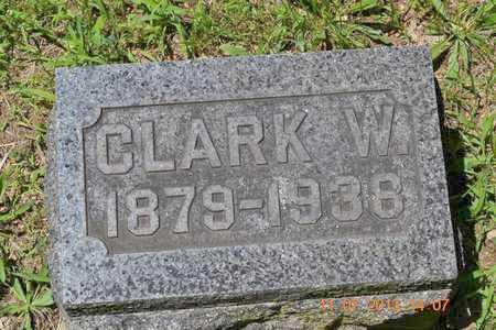 WILLIAMS, CLARK W. - Branch County, Michigan | CLARK W. WILLIAMS - Michigan Gravestone Photos