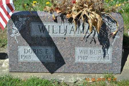 WILLIAMS, WILBUR D. - Branch County, Michigan   WILBUR D. WILLIAMS - Michigan Gravestone Photos