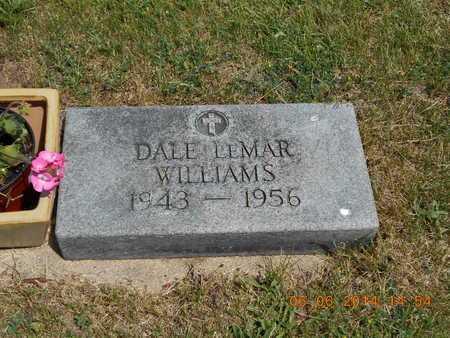 WILLIAMS, DALE LEMAR - Branch County, Michigan | DALE LEMAR WILLIAMS - Michigan Gravestone Photos