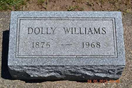 WILLIAMS, DOLLY - Branch County, Michigan | DOLLY WILLIAMS - Michigan Gravestone Photos