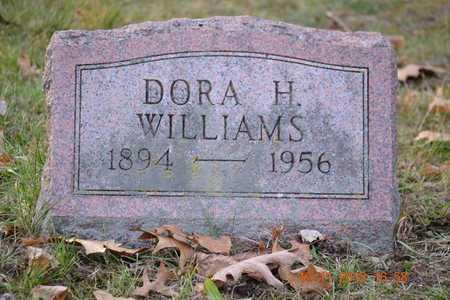 WILLIAMS, DORA H. - Branch County, Michigan | DORA H. WILLIAMS - Michigan Gravestone Photos