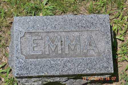 WILLIAMS, EMMA - Branch County, Michigan | EMMA WILLIAMS - Michigan Gravestone Photos