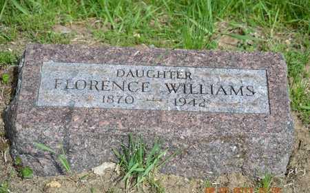 WILLIAMS, FLORENCE - Branch County, Michigan | FLORENCE WILLIAMS - Michigan Gravestone Photos