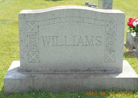 WILLIAMS, FAMILY - Branch County, Michigan | FAMILY WILLIAMS - Michigan Gravestone Photos