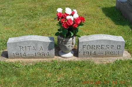WILLIAMS, RITA A. - Branch County, Michigan | RITA A. WILLIAMS - Michigan Gravestone Photos