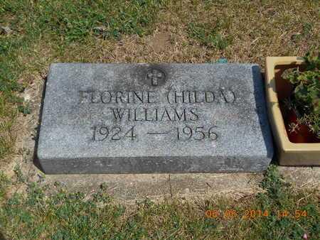 WILLIAMS, FLORINE (HILDA) - Branch County, Michigan | FLORINE (HILDA) WILLIAMS - Michigan Gravestone Photos