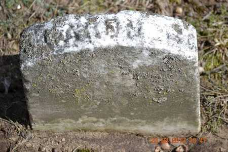 WILLIAMS, GARDNER - Branch County, Michigan | GARDNER WILLIAMS - Michigan Gravestone Photos