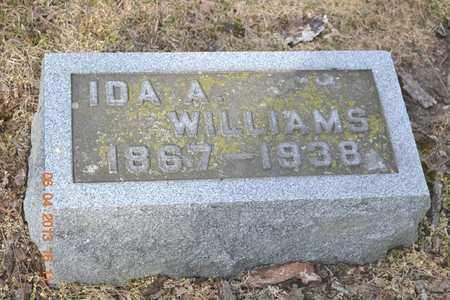 WILLIAMS, IDA A. - Branch County, Michigan   IDA A. WILLIAMS - Michigan Gravestone Photos