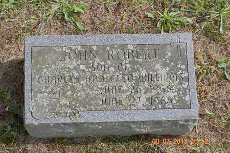 WILLIAMS, JOHN ROBERT - Branch County, Michigan | JOHN ROBERT WILLIAMS - Michigan Gravestone Photos