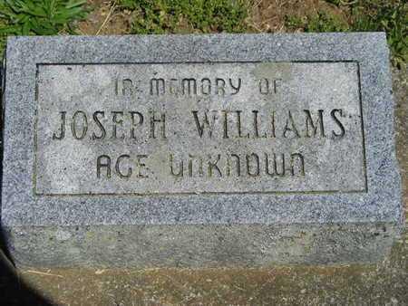 WILLIAMS, JOSEPH - Branch County, Michigan   JOSEPH WILLIAMS - Michigan Gravestone Photos