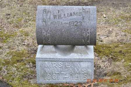 WILLIAMS, L.M. - Branch County, Michigan | L.M. WILLIAMS - Michigan Gravestone Photos