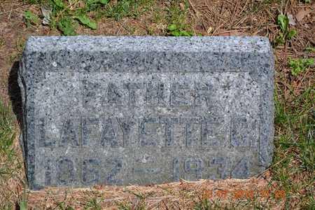 WILLIAMS, LAFAYETTE C. - Branch County, Michigan | LAFAYETTE C. WILLIAMS - Michigan Gravestone Photos