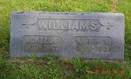WILLIAMS, LEBELLE - Branch County, Michigan | LEBELLE WILLIAMS - Michigan Gravestone Photos