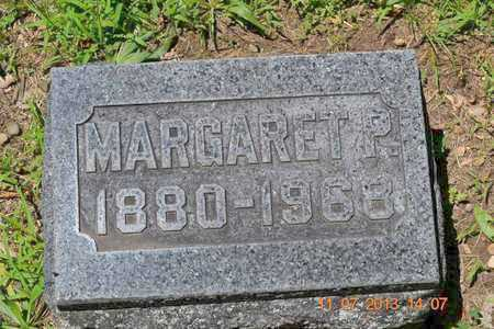 WILLIAMS, MARGARET P. - Branch County, Michigan | MARGARET P. WILLIAMS - Michigan Gravestone Photos