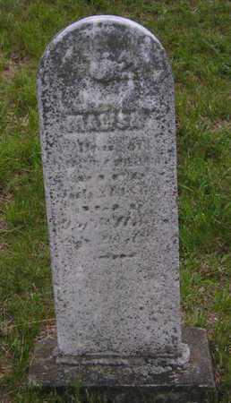 WILLIAMS, MALISA - Branch County, Michigan | MALISA WILLIAMS - Michigan Gravestone Photos
