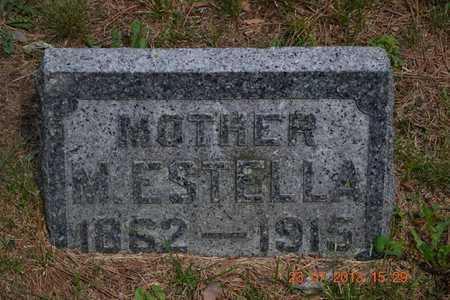 WILLIAMS, M. ESTELLA - Branch County, Michigan | M. ESTELLA WILLIAMS - Michigan Gravestone Photos