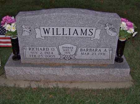 WILLIAMS, BARBARA - Branch County, Michigan | BARBARA WILLIAMS - Michigan Gravestone Photos