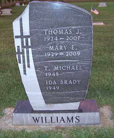 WILLIAMS, MARY - Branch County, Michigan | MARY WILLIAMS - Michigan Gravestone Photos